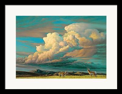 Sky Scape Framed Prints