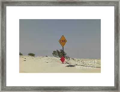 Edge Of The World Framed Print by Deborah Smolinske