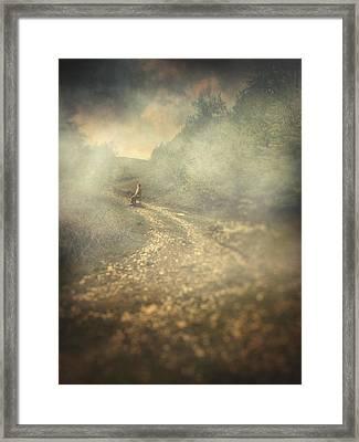 Edge Of The World Framed Print by Taylan Apukovska