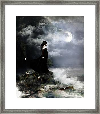 Edge Of Tomorrow Framed Print by Shanina Conway