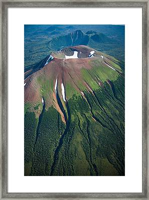 Edgecumbe Volcano Framed Print