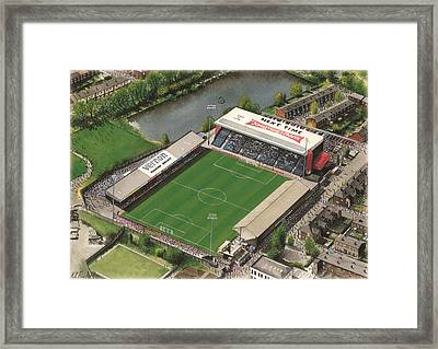 Edgeley Park - Stockport County Framed Print