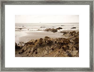 Edges Framed Print by Amanda Barcon