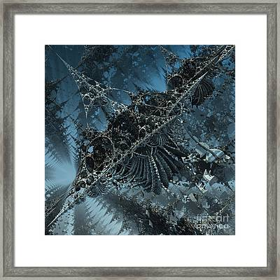 Edges Framed Print