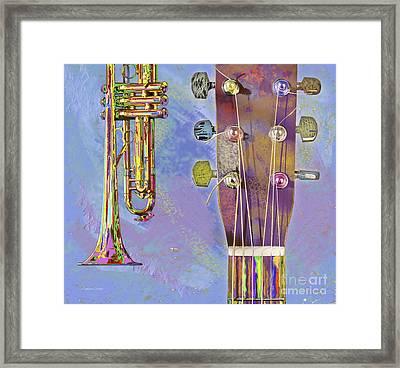 Edible Instruments Framed Print by Gordon Wood