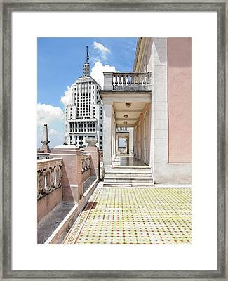 Edificios Altino E Martinelli - Sao Paulo Framed Print