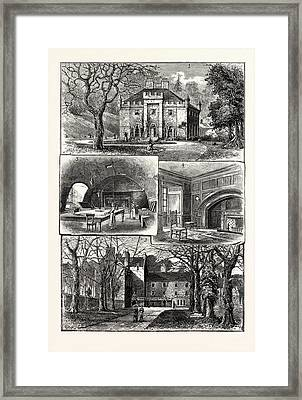 Edinburgh 1. The Hermitage Braid 2. Craig House 3 Framed Print by English School