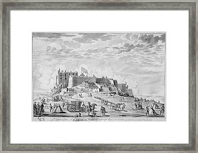 Edinburgh Castle Framed Print by British Library