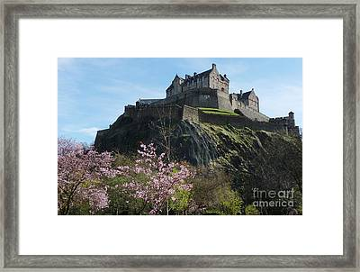 Edinburgh Castle - Scotland Framed Print by Phil Banks