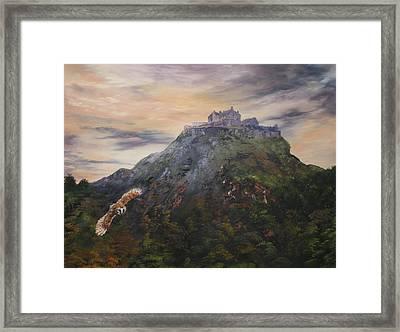 Edinburgh Castle Scotland Framed Print