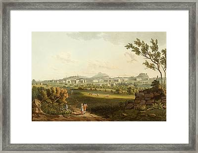 Edinburgh From The North West Framed Print by British Library