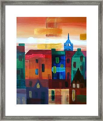 Edinburgh L Framed Print