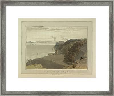 Edinburgh With Wemys Castle Framed Print by British Library