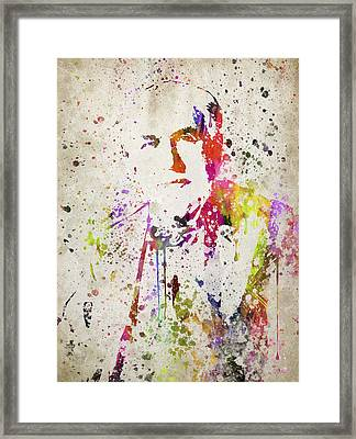 Edison In Color Framed Print by Aged Pixel