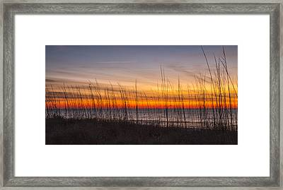 Edisto Beach Sunrise 02 Framed Print