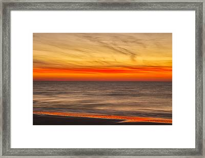 Edisto Beach Sunrise 07 Framed Print