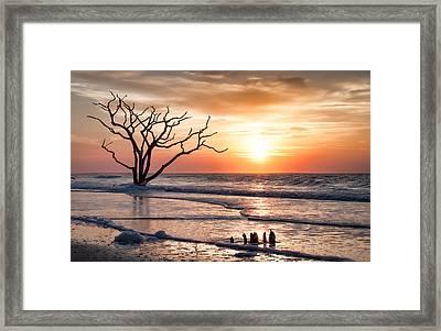Edisto Sunrise Framed Print by Curtis Cabana