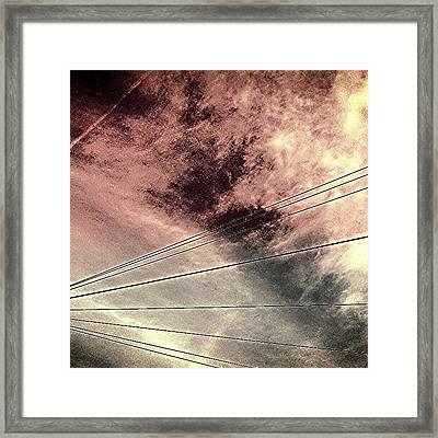 Dramatic Sky 3 Framed Print