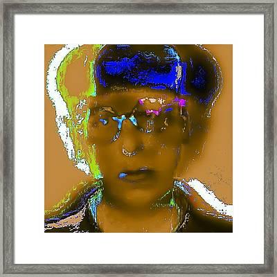 Edith Head Framed Print by Henry Everhart-Martinez