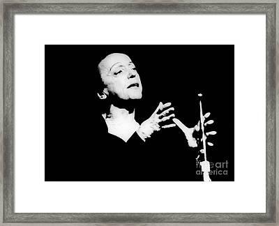 Edith Piaf 1915-1963 Framed Print