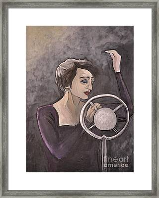 Edith Piaf Framed Print