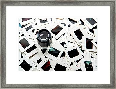 Editing  Framed Print by Olivier Le Queinec