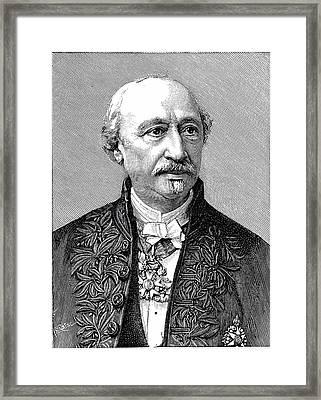 Edmond Becquerel Framed Print by Universal History Archive/uig