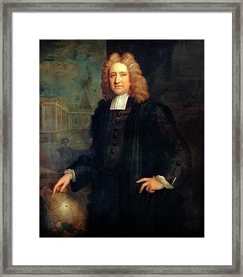 Edmond Halley Framed Print