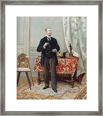 Edmond Taigny Framed Print