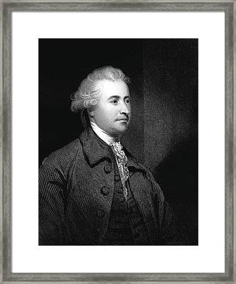Edmund Burke Framed Print by Collection Abecasis