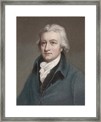 Edmund Cartwright Framed Print