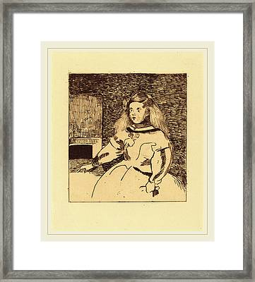 Edouard Manet After Diego Velázquez French Framed Print