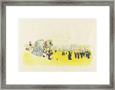 Edouard Vuillard French, 1868 - 1940, Childrens Pastime Framed Print