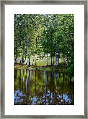 Edson Hill Reflections Framed Print