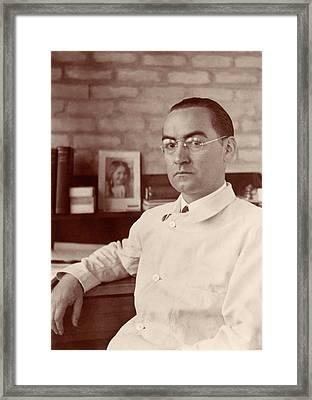 Eduardo Bunster Montero Framed Print
