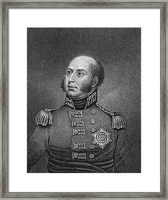 Edward Augustus (1767-1820) Framed Print by Granger