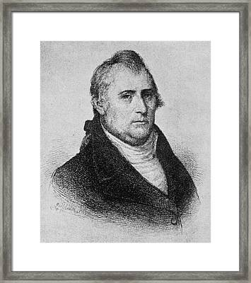 Edward Carrington Framed Print by Granger