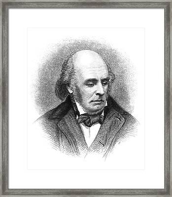 Edward Fitzgerald (1809-1883) Framed Print by Granger
