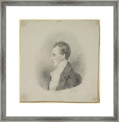 Edward Gardner Framed Print by British Library