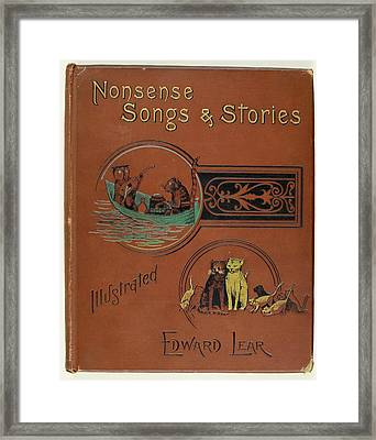 Edward Lear's Nonsense Songs And Stories Framed Print by British Library