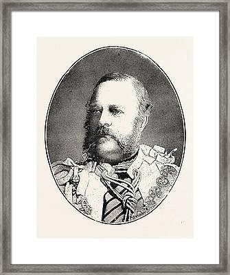 Edward Nugent Leeson, Sixth Earl. Of Milltown Born October 9 Framed Print