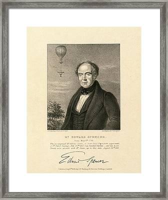 Edward Spencer Framed Print