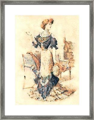 Edwardian Elegance Framed Print