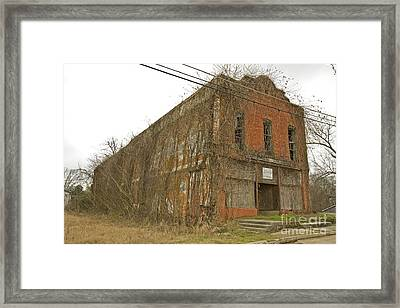 Edwards Store Framed Print by Russell Christie