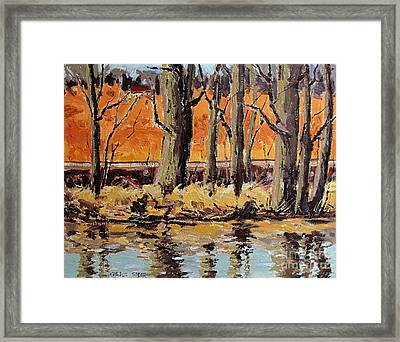 Eel River Tow Path Framed Print