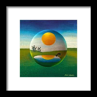 Orb Framed Prints