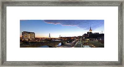 Ef Education First Headquarter Framed Print by Juergen Roth