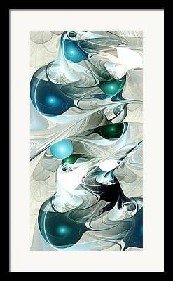 Effervescence Mixed Media Framed Prints