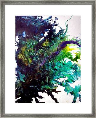Effloresce Left Framed Print by Holly Anderson