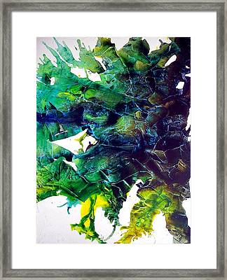 Effloresce Right Framed Print by Holly Anderson